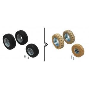 πρότυπο Τιμή diff.between και μη-σήμανση τροχούς (3 τροχούς)