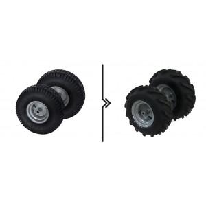 Τιμή Διαφορά μεταξύ προτύπου και τρακτέρ τροχήλατο (2 ρόδες)