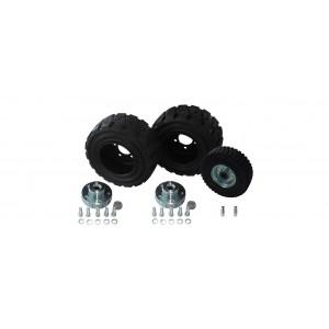 τυπική τιμή diff.between και βιομηχανικά ελαστικά (3 ρόδες)